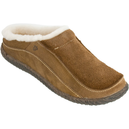 Entertainment If Acorn feels it's completely o.k. for you to leave the house with the Men's Roam Sheep Mule Slippers on your feet to grab a quart of milk for your cereal, than it's all good. - $74.96