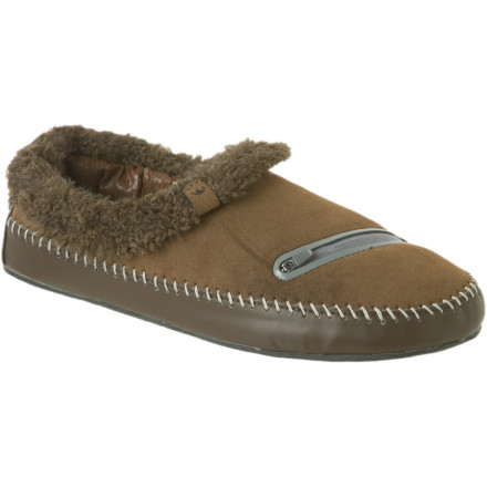 Entertainment Wake up, slide your feet into your Freewaters Selfemployed Slippers, and drop some bread into the toaster. Today's going to be alright. - $53.97