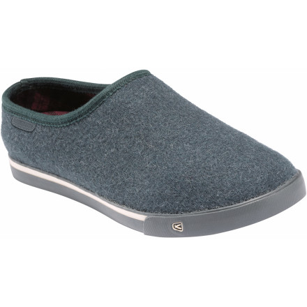 Entertainment You can slip your foot into the KEEN Men's Belltown Slipper and do absolutely nothing. Or you could walk to the fridge, walk to the neighbors' BBQ, or walk to the coffee shop. - $34.98
