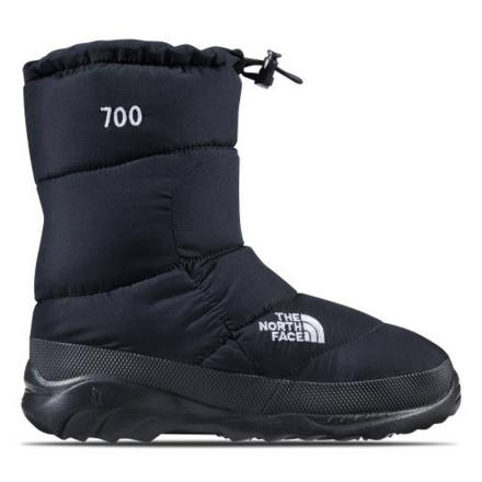 Camp and Hike You might be waiting out a storm at base camp, or you might be doing something slightly less hardcore, like shoveling your driveway. The North Face Nuptse Bootie III warms your foot and adds traction to your step either way. - $50.97