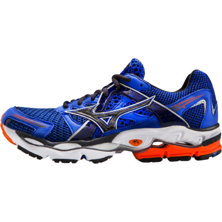 Fitness The Mizuno Men's Wave Enigma Running Shoe takes the mystery out of your shoe selection dilemma. This straightforward (but feature-packed) shoe was designed for those with a neutral stride looking for maximum support; it also features a blown rubber forefoot for extra cushioning and flexibility. - $62.48