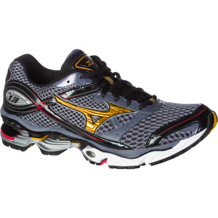 Fitness Mizuno managed to shave half an ounce off its Men's Wave Creation 13 Running Shoe without sacrificing one iota of performance. The Wave works well for those with a neutral stride who are looking for extra support and an extraordinarily smooth feel on high-mileage runs. - $83.97