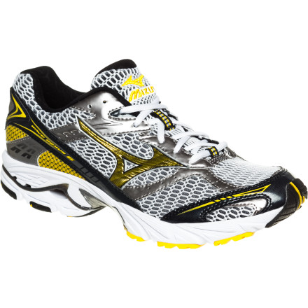 Fitness Top performance and budget-friendly pricing don't often coincide, but when they do the result looks an awful lot like the Mizuno Men's Wave Nexus 6 Running Shoe. You get all the benefits of the vaunted Mizuno Wave technology underfoot dissipating impact forces for a smoother, more cushioned feel, without any pain on the wallet. - $67.89