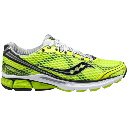 Fitness Saucony moved the support in the upper of the Men's Powergrid Triumph 10 Running Shoe undercover for a sleek new look with the same supportive fit. Light, flexible, and comfortably cushioned, this neutral runner makes every run a victory lap. - $129.95