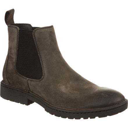 Camp and Hike Before you meet your gal, swap your grubby tee for a button-up, and pull on the Born Men's Julian Boots. These short-cuffed boots keep things relaxed while providing comfort and just enough support for dinner and a short sunset hike. - $83.97