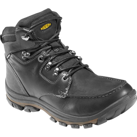 Whether you use 'em to patrol the wet city streets or muddy trails leading out of town, the KEEN NoPo Boot was built to stand up to the weather. Rustic KEEN styling lends a casual look, and an EVA midsole and footbed keep you comfortable as you walk the walk. - $93.47