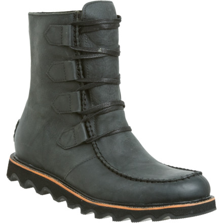 The Sorel Mad Boot Lace combines classic '50s style with modern functionality. - $151.96