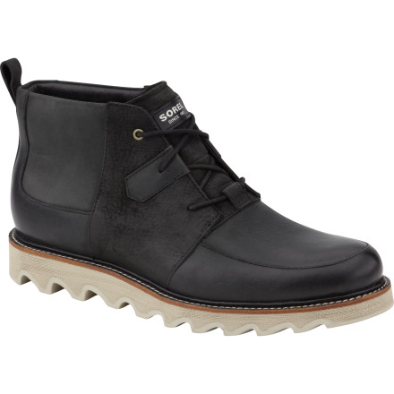 The Sorel Mad Desert Boot throws down with a classic, casual look that drips with Sorel's legendary quality. Whether you're heading into work or just want a killer look for weekends with the guys, these boots will keep your feet looking good and feeling great. - $113.97