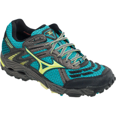 Fitness Take the bite out of stony trails and lace on the Mizuno Women's Wave Cabrakan 3 Trail Running Shoe before you head out the door. The water-resistant AirMesh upper keeps you drier, while the full-length Wave plate protects your feet from sticks and stones. The extra-supportive Cabrakan also offers a smooth, cushioned ride thanks to the Mizuno Wave technology. - $77.97