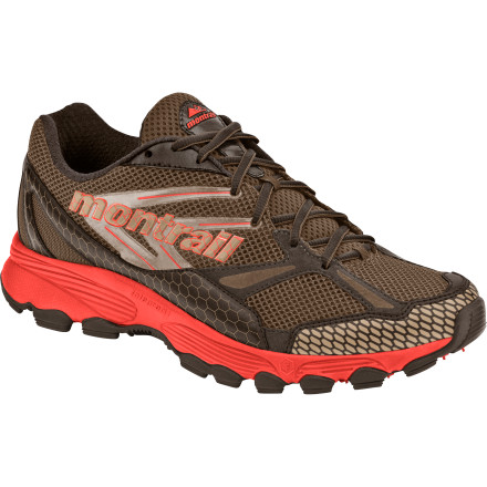 Fitness Montrail designed the Women's Badrock Trail Running Shoe for runners looking for a little more support on their off-road excursions. Wipe the sweat off your brow and the competition off your trail as you disappear into the woods at race-day pace, knowing full well that the stability of the Badrock helps ward off rolled ankles. - $52.48