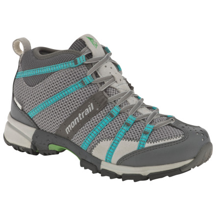 Fitness If you love to run down but prefer to hike up, check out the Montrail Women's Mountain Masochist Mid OutDry Shoe. Whether you trail run or hike, this versatile, mid-height shoe gives you both the traction and support you need for bagging peaks or small mountains. - $83.97