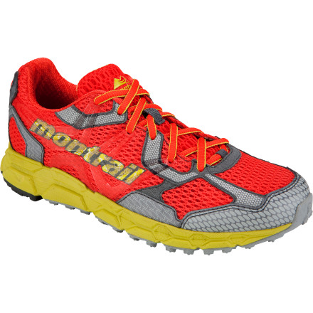 Fitness Blissfully tackle trail runs through rough, loose terrain when you're wearing the Montrail Women's Bajada Trail Running Shoe. Ideal for off-road runners who don't require special alignment, this neutral shoe features an aggressive lug pattern and flexible sole. Ample midsole cushioning soaks up the roughness of scree fields and rocky creek beds so you can crush mid- to long-distance runs without aching joints. - $87.96