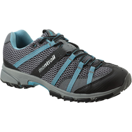 Fitness Both the pain and the miles fade away underfoot when you head for the hills in the Montrail Women's Mountain Masochist II Trail Running Shoe. Built for tough and steep terrain, the Mountain Masochist II builds on a proven design to complement the engine driving it: you. - $84.96