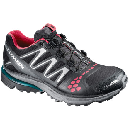 Fitness Designed for long-distance runners in need of pronation control, the Salomon Women's XR Crossmax Guidance CS Trail Running Shoe helps you feel the freedom of your favorite trail. A highly engineered midsole and outsole work together to keep your strides on target, while ClimaShield upper and ContraGrip outsole remain ready for those slick and soggy sections of trail. - $74.98