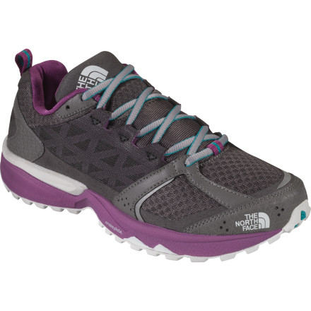 Fitness Sprint up the trail, scramble over boulders, and reach the summit in comfort when you wear The North Face Women's Single-Track II Trail Running Shoe. Designed to bag peaks, this lightweight trail running shoe has Snake Plate technology to help reduce stone bruising while still retaining overall comfort and flexibility. - $87.96