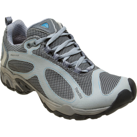 Fitness The Treksta Women's Evolution II Trail Running Shoe was made for rising early and knocking out the day's run before the sun fully crests the eastern ridge. Built with Treksta's innovative NestFit construction, the Evolution II was designed by measuring the specific curves and contours of over 20,000 different feet. - $69.98