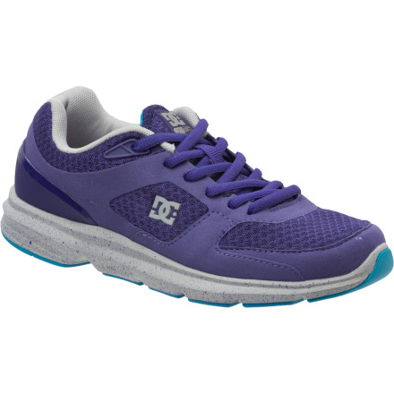 Fitness Walk, jog, or run your way to more energy with the help of the stylish, comfy, and breathable DC Women's Boost Shoe. This shoe's lightweight design is ready for anything from trail running to dance classes at the gym. - $67.50