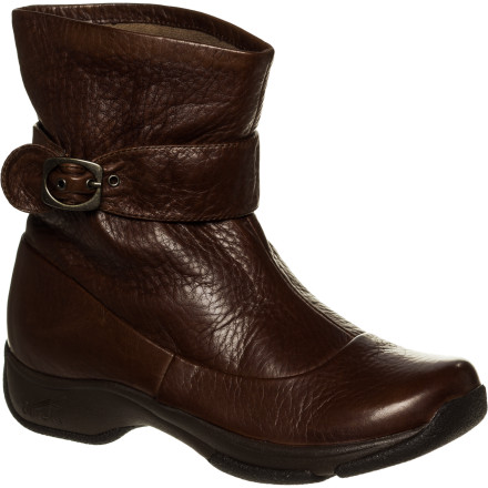 Whether you're shopping for Thanksgiving dinner or taking the kids trick-or-treating, the Dansko Women's Kody Boot is the perfect choice for crisp fall days. The durable full-grain leather upper provides a classic boot look while the molded EVA insole gives you the necessary arch support and cushioning for all-day comfort. - $87.48