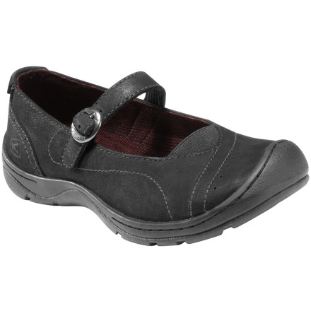 Why bother with pain-inducing heels when you have the KEEN Women's Sterling City MJ Shoe to give you a fresh look without all the discomfort' - $89.95