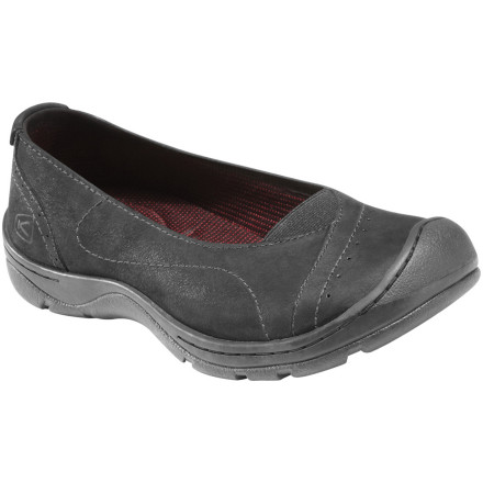 It's probably been years since you practiced a Couru or been told to go to the barre, but the KEEN Women's Sterling City Ballerina Shoe is ready to transport you back to those simpler days. Be warned: if you get a sudden urge to pair this casual kick with a leotard and head out into public, don't. - $38.23