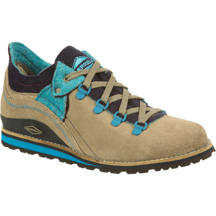 Camp and Hike The Merrell Women's Lazer Origins Shoes give you a casual, laid-back look and enough rugged tech to keep you on the trail. These low-rise hiker-style are great for kickin' it around town, and they bring enough toughness to keep your feet happy on a day hike up the canyon. - $71.18