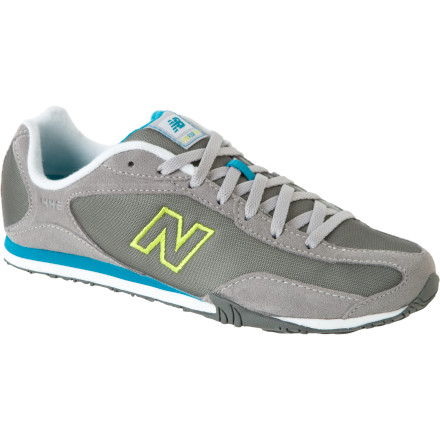 Pull out your track suit and lace up the New Balance Women's 442 Shoe. This casual kick combines comfort and durability with classic retro style. - $43.96