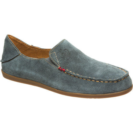 Camp and Hike Slide your foot into the Women's Nohea Suede Shoe and breathe a deep sigh of relief. The smooth, soft suede of the Nohea feels something like that sensation you get when you dig your toes into a warm, sandy beach. And the soft footbed' Heaven. This is a shoe fits in at the beach, on your back porch, or when you're kicking around camp during a climbing trip. - $80.00