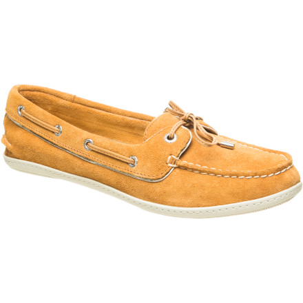 You may love the comfort of your slippers, but if you're not interested in walking around outdoors all day in them, we suggest the next-best thing: the Sperry Top-Siders Women's Montauk Shoe. This version of Sperry's classic combines the comfiness of a slipper with the toughness of a boat shoe. - $58.47