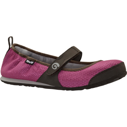 Entertainment Wear the Teva Women's Mush Frio MJ Mesh Shoe while you're kicking around at home or grab it when you need a casual shoe that's easy to pack in your already-full luggage. Made of soft, flexible material, this shoe feels breezy enough for summer but it's protective enough for spring and fall too. Sandal season might be over, but the Mush Frio Shoe is here to stay. - $25.00