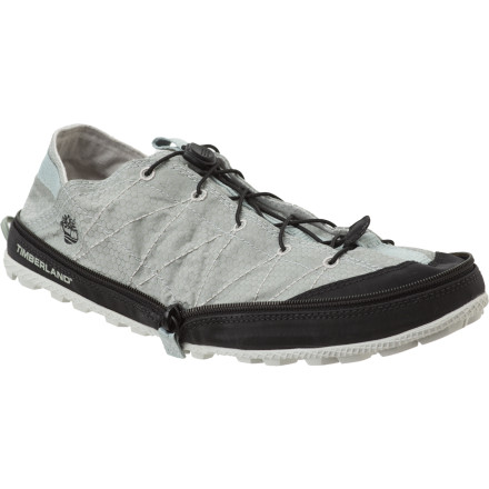 Designed with post-exercise comfort and compact, easy storage in mind, the uniquely versatile Timberland Women's Radler Trail Shoe treats your feet to lightweight comfort after hikes, climbs, or any other lengthy activity. - $45.47