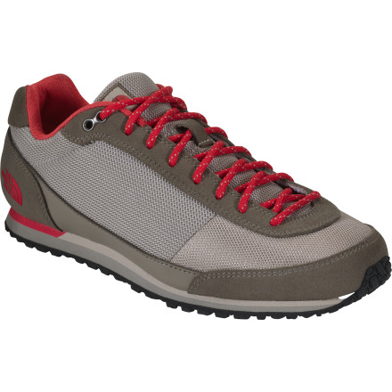Ascend, descend, or pretend. It doesn't really matter what you do in The North Face Women's Scend Shoe. Its retro-athletic styling suits any surface, any occasion, and any destination. A day in the city, a night in the hills, or a week on a university campus are all adventures. - $40.48
