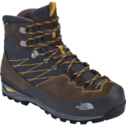 Camp and Hike Lose the bulkiness of a full-blown backpacking boot and beef up a day hiker, and you're left with The North Face Women's Verbera Lightpacker GTX Boot.This lightweight, fully featured boot helps you carry medium loads through technical terrain. Italian craftsmanship, full weatherproofing, a grippy vibram sole, and a medium-volume last ensure that this boot can deliver through foul weather or brutal, mountainous ascents. - $224.95