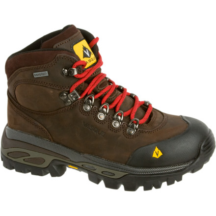 Camp and Hike The Vasque Women's Bitterroot GTX Hiking Boots are like miniature bulldozers for your feet. These beautiful beasts of boots travel rough, rocky terrain with ease, oblivious to streams and spring showers and impervious to the weight of a week-long pack. - $159.96