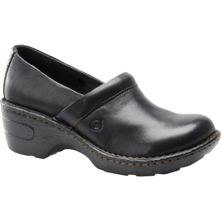 Fitness The Born Women's Toby Clogs keep your feet happy with supple leather and quality Opanka construction so you can keep moving even after a whole day on your feet. European styling gives you a casual, classic look that works whether you're at work or out running errands. - $67.46