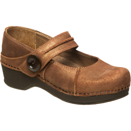 Whether your profession requires that you're on your feet for long periods of time or you just need a supportive, comfortable shoe, turn to the Dansko Women's Crepe Maryjane Clog. - $107.96