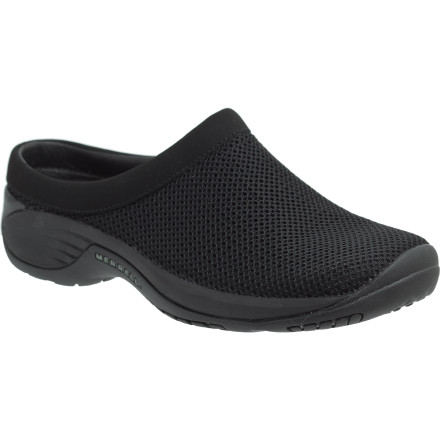 Entertainment Slip on the Merrell Women's Encore Breeze 2 Shoe when you're looking for casual comfort. Early-morning trips to the seaside village for fresh donuts, evening dog-walks after a long day at work, or trips and errands anytime in-between just go better when you're sporting this comfortable, breathable clog. - $84.95