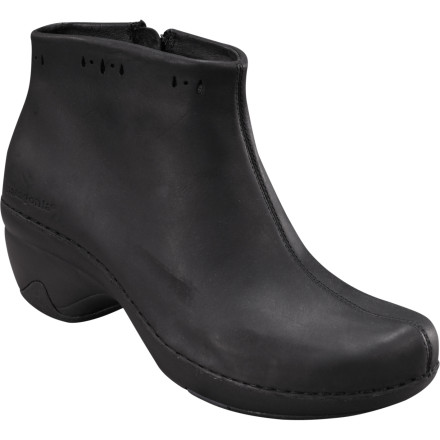 Stay comfortable and look fabulous this winter with the Patagonia Footwear Women's Better Clog Boot. The full-grain leather upper keeps winter slop at bay, and the rubber outsole extends up the heel for added stability. - $67.50
