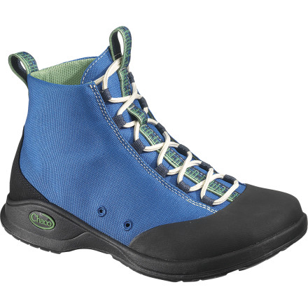 The more time you spend on the river, the more you expect from a river shoe. The Chaco Women's Tedinho Pro Water Boot meets the demands of the most devoted paddlers with its super-sticky outsole that easily grips wet or dry rock. Its quick-drying, ankle-height upper supports your amphibious adventures and cuts down on the need for footwear alternatives once you leave the water. - $64.98