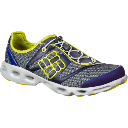 Fitness Your passion for water and running may seem like a dilemma when it comes to choosing the proper footwear, but perhaps that's because you haven't slipped your foot into the Columbia Women's Powerdrain Water Shoe. - $66.47