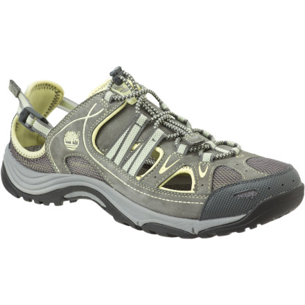 If you spend as much time in water as you do on land, then it just makes sense to treat your feet to the self-draining, highly ventilated, and surprisingly supportive Timberland Women's Ocean Park Shoes. - $66.47