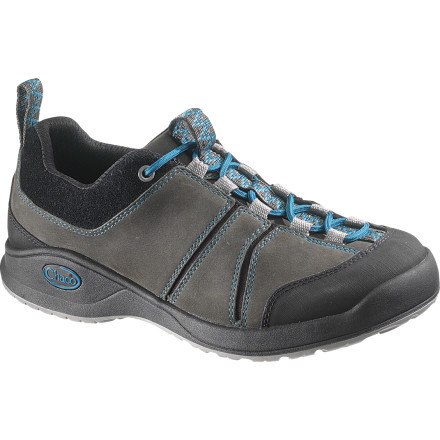 Camp and Hike Since you live your life without limits and the Chaco Women's Torlan Bulloo Shoe takes on any trail, or city scene, you two might get along quite well. Whether you're bar-hopping in Barcelona or trekking through the grand canyon, this shoe's tough, stylish leather outer and breathable mesh lining provide the perfect combination for land-based excursions. - $56.23