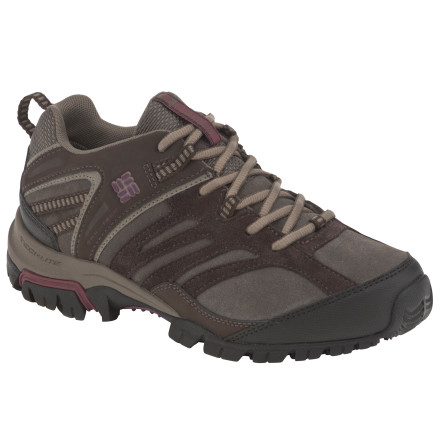 Camp and Hike Whether you're going for a day-long hike or scoping out some new mountain bike trails, the Columbia Women's Shasta Ridge Omni-Tech Lea Shoes are ready. The Shastas support your feet and keep wetness out without feeling heavy or bulky. - $52.48