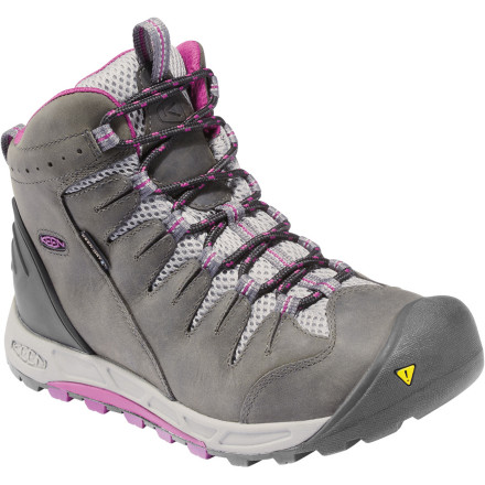 Camp and Hike Hiking shoes are great, but sometimes you need a little extra support around the ankle. If this is the case, look towards the Keen Women's Bryce Mid WP Hiking Shoe. Waterproofing, tough protection from rough terrain, and plenty of traction for the trail or beyond, it's all there. Slide your foot into this shoe and you'll be glad you'll never look at a heavy boot again. - $134.95