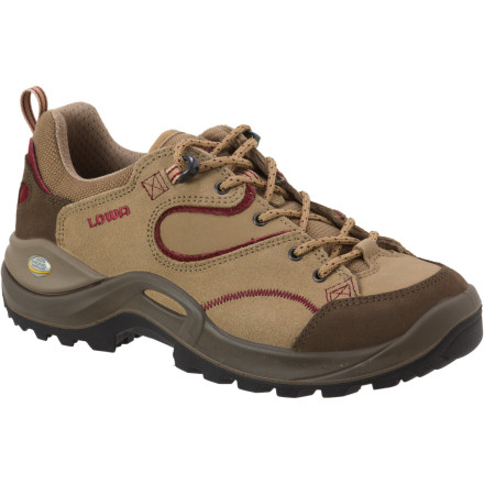Camp and Hike Lightweight construction, lateral stability, and an all-purpose Vibram outsole make the Lowa Women's Tempest Lo Hiking Shoe the multi-tool of hiking footwear. - $115.96