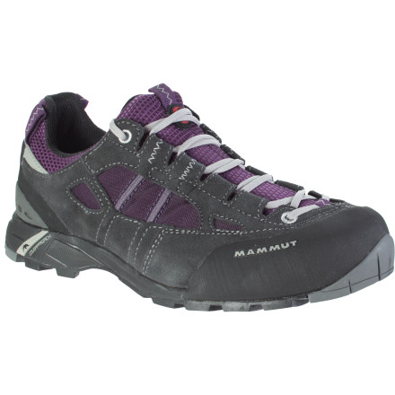 Camp and Hike The miles melt away underfoot while you explore the peaks with the Mammut Women's Redburn Hiking Shoe. Some days require that you fill up your hydration pack, grab some snacks, and head up to the treeline for some reflective time. Increase both your comfort and your time away from the hustle and bustle of city life when you break ground with the Redburn. - $71.37