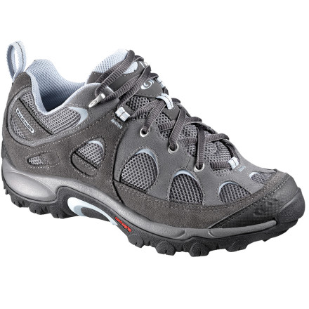 Camp and Hike Slip on a pair of the Women's Salomon Exit Aero 2 Hiking Shoes when you're wandering the beaches of Baja or the trails of Northern California. - $62.97