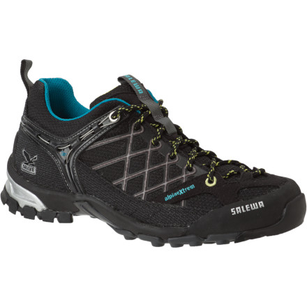 Fitness Salewa\s European mountaineering pedigree drove the design of the Women\s Firetail Hiking Shoe, which combines alpine technologies (Vibram, climbing laces, rands) with the lightweight comfort of running shoes. The state-of-the-art Firetail provides a blister-free fit and can handle approaches and descents on the most technical trails. - $77.37