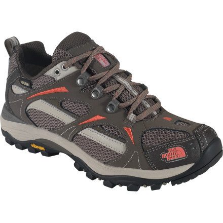 Camp and Hike Light and fast treks into the wild don't always require huge hiking boots. The North Face Hedgehog GTX XCR III Shoe is flexible and comfortable like a shoe but features a waterproof breathable Gore-Tex membrane to keep your toes dry in gnarly terrain. - $77.97