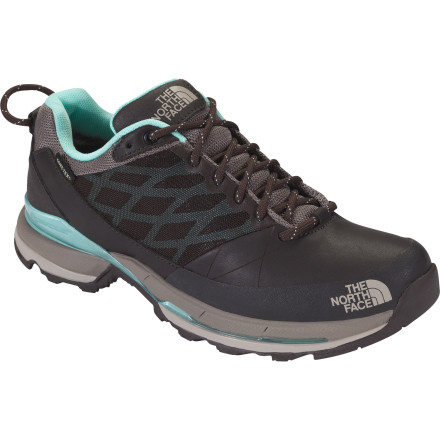 Camp and Hike Like its sister shoe, the Havoc, The North Face Women's Havoc GTX XCR Shoe handles technical terrain like a champ. But unlike its sister shoe, when the weather rolls in, the Havoc GTX XCR packs a Gore-Tex waterproof breathable membrane punch to keep your toes dry. Your terrain choice involves rocky ascents and slippery descents ideally suited for a heavy mountaineering boot, but who wants that kind of weight' And you could take your trail runners, but your feet would suffer. The Havoc Shoe provides ample support and protection in a light-and-fast package designed specifically for the mountains. - $89.97