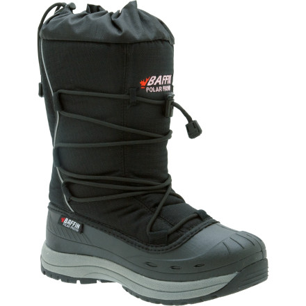 Two feet of snow fell last night and temps reached -20F, but you're not worried because you have the Baffin Women's Snogoose Winter Boots. Their seven-layer inner liners and Thermaplush insulation keep feet toasty down to -40 degrees, the temperature where Fahrenheit meets Celsius. Baffin's aggressive rubber sole provides excellent traction in slippery conditions, and the Snogoose Winter Boots also include a top cinch to completely seal them when you have to walk through knee-deep snow. Just slip your feet into these warm boots, close them up with their one-pull lacing system, and enjoy winter. - $71.97